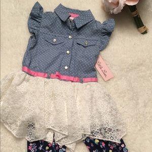 New girls set size 24 months Little Lass